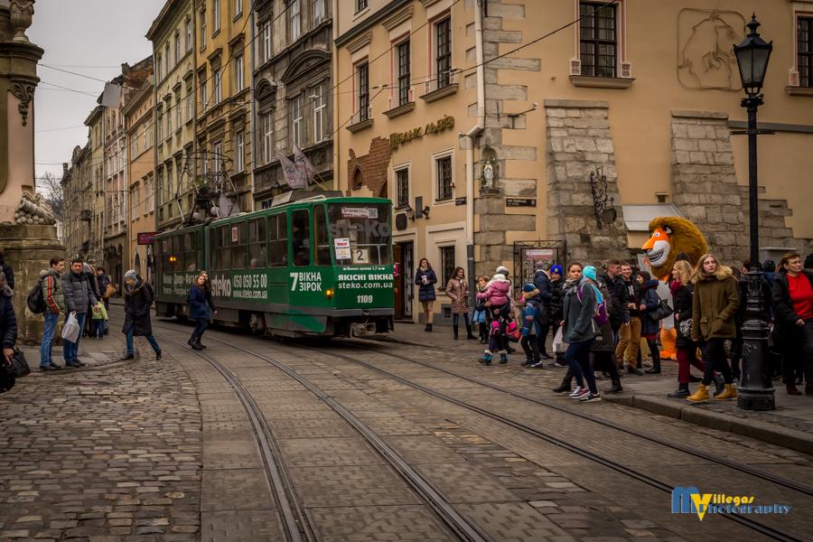 Rynok Square trolleys